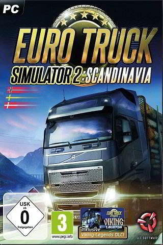 Download Euro Truck Simulator 2 Scandinavia Full Game Torrent For Free (1.70 Gb)