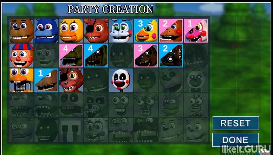 Game FNaF World, download, torrent FNaF World