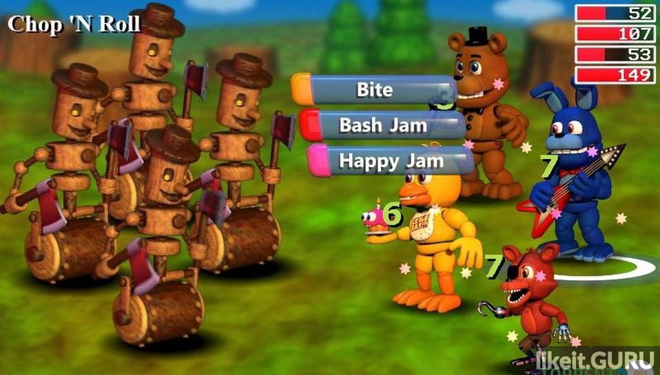 Free FNaF World game torrent