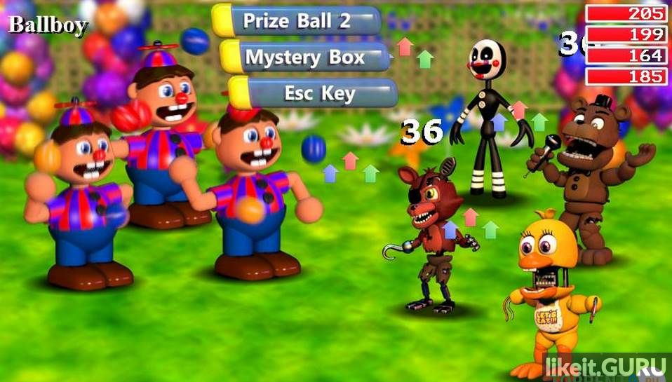 FNaF World download torrent