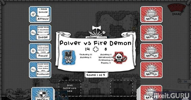Download game Guild of Dungeoneering for free