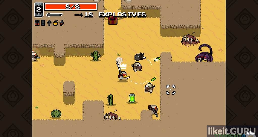 Download game Nuclear Throne for free