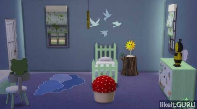 Free download The Sims 4 Kids Room torrent