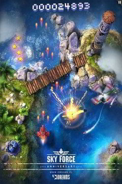 Arcade, Shooter free Sky Force Anniversary torrent