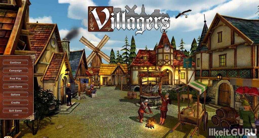 Villagers Strategy, Simulation download torrent