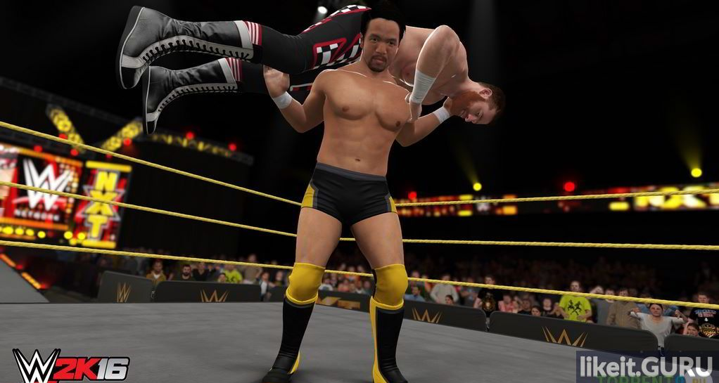 Simulation, Fighting, Sports 2015 WWE 2K16 torrent game full