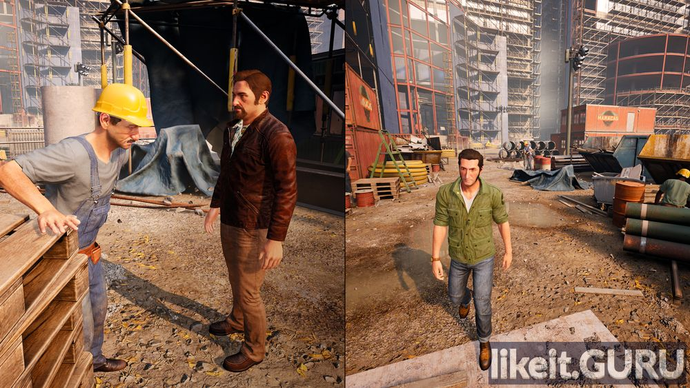 A Way Out of the game screen