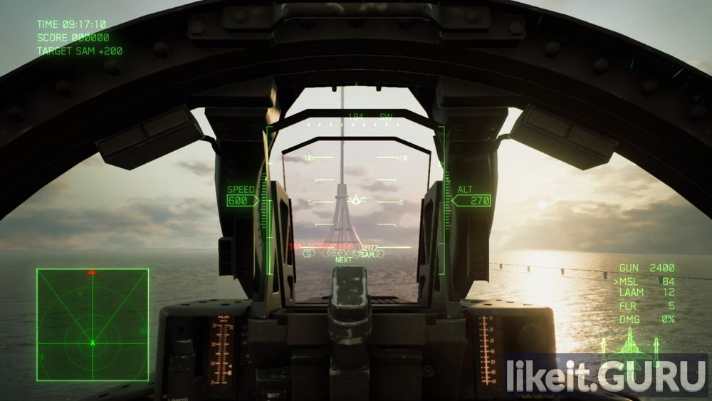7 ACE COMBAT: SKIES of UNKNOWN game screen