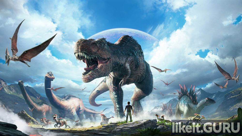 ARK Park game screen