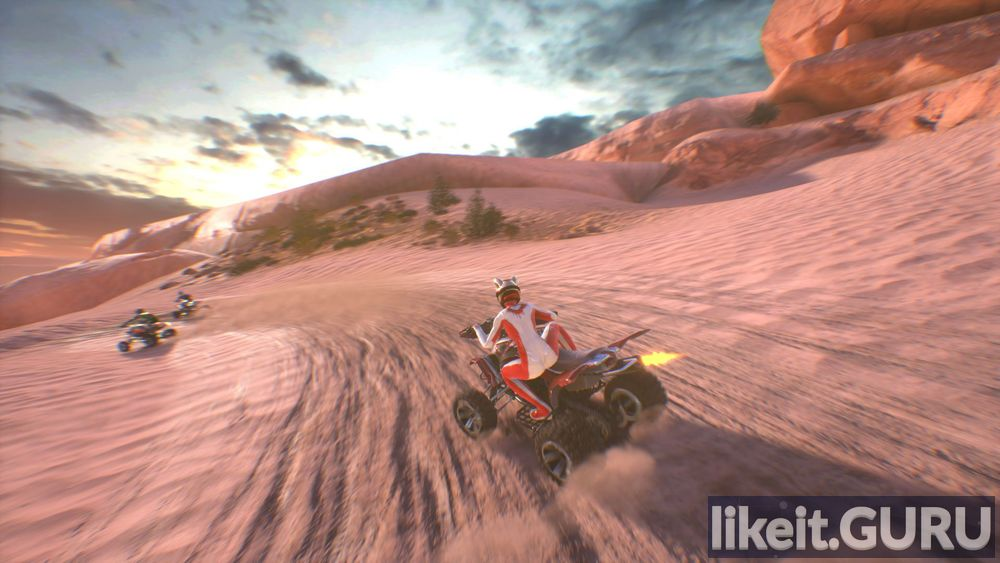 ATV Drift and Tricks game screen