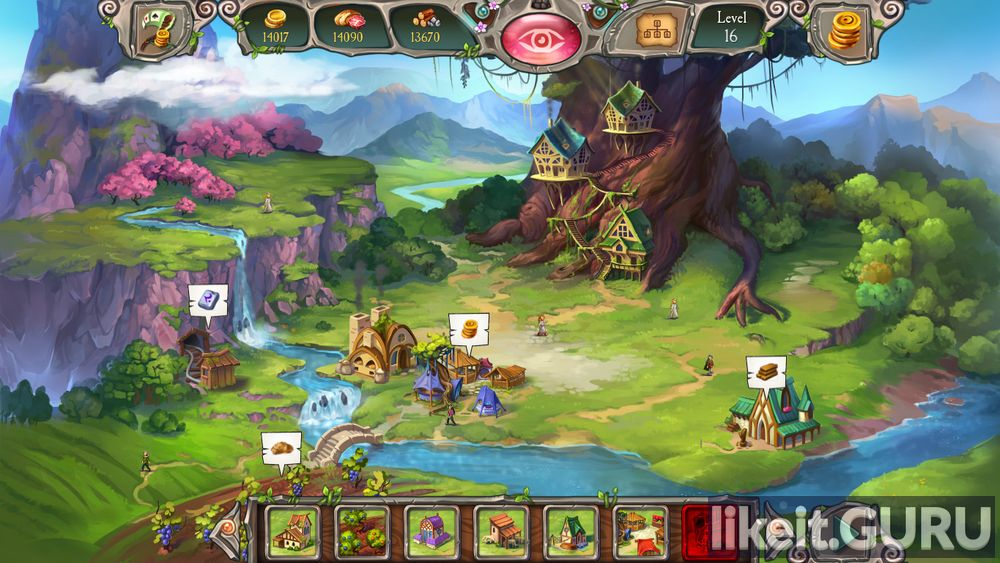 Avalon Legends Solitaire 3 game screen