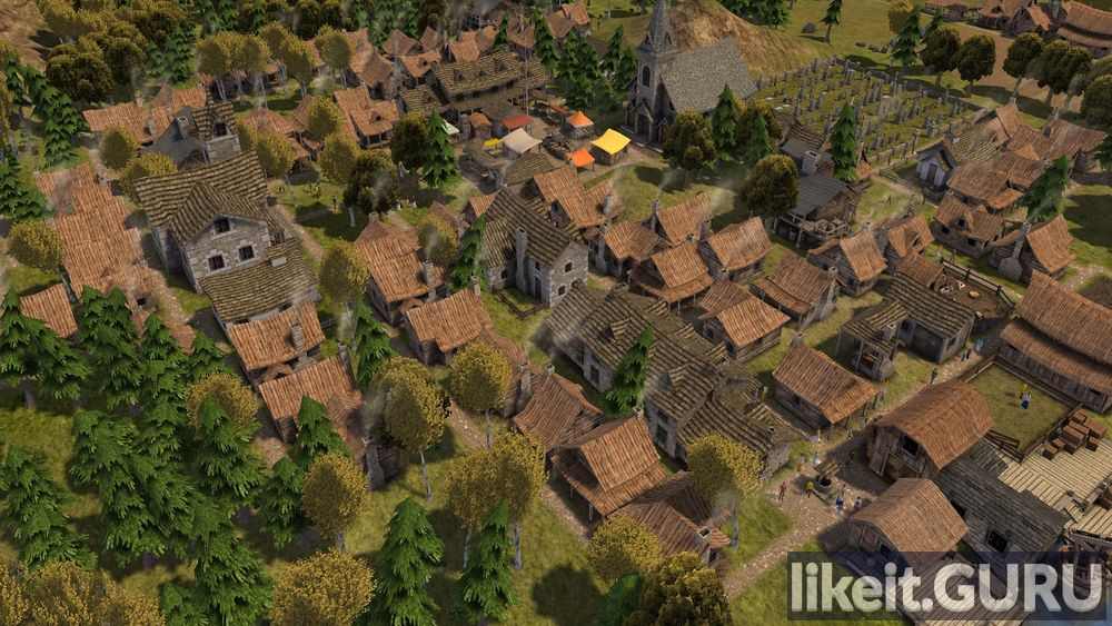 Banished game screen