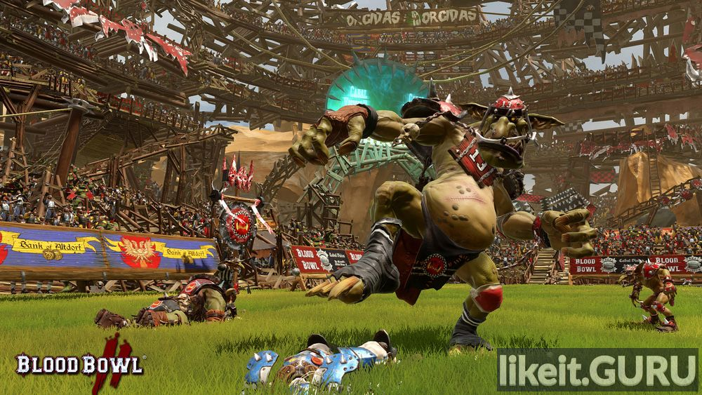 Blood Bowl 2 game screen