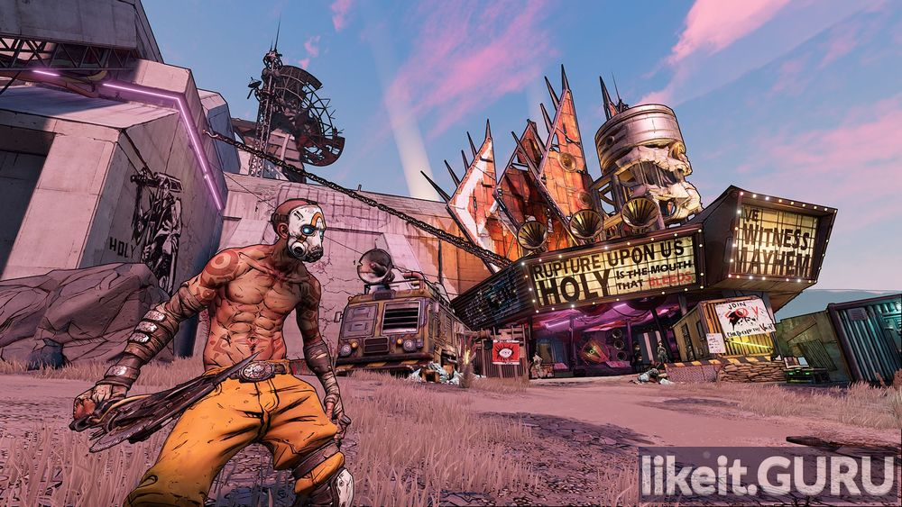 Borderlands 3 game screen