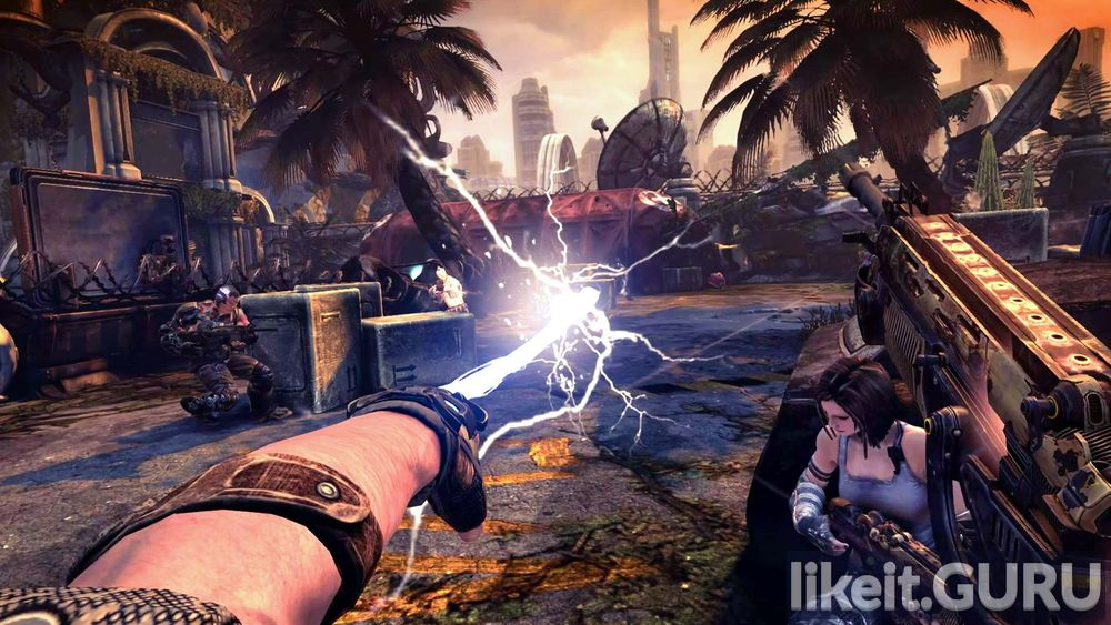 Bulletstorm: Full Clip Edition game screen