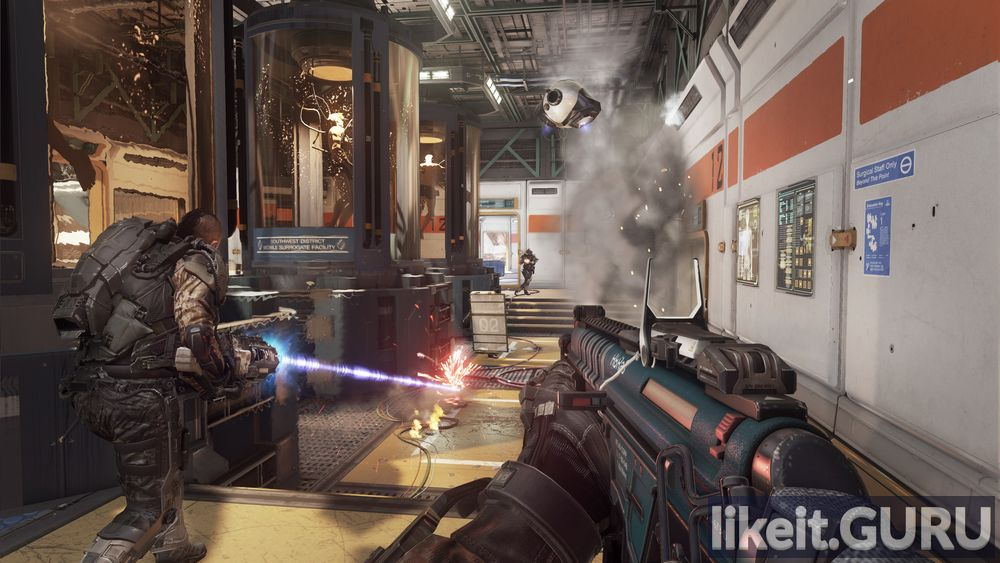 Call of Duty: Advanced Warfare game screen