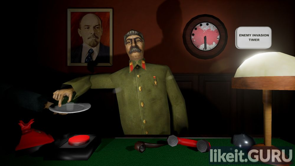 Calm down, stalin game screen
