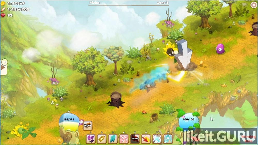 Clicker Heroes 2 game screen