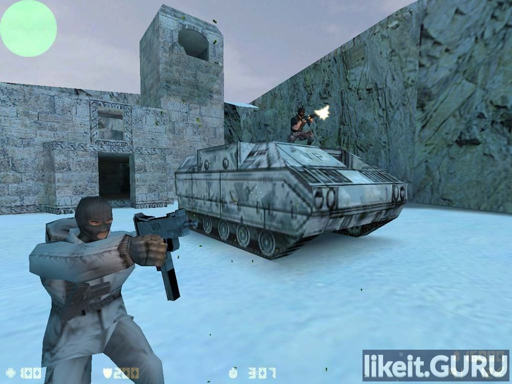 Counter-Strike 1.6 game screen