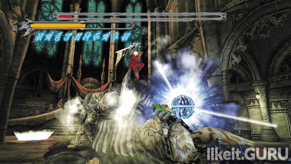 Devil May Cry HD Collection game screen
