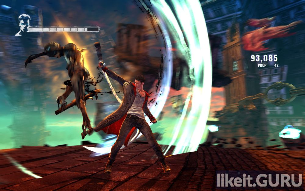 DmC: Devil May Cry game screen
