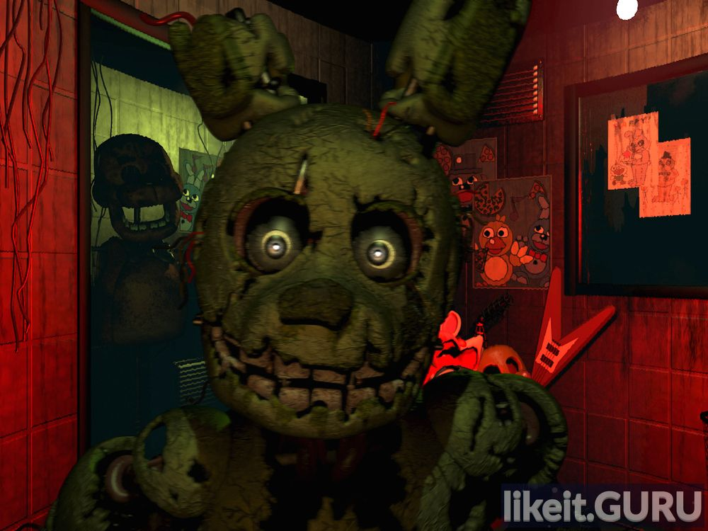 Five Nights at Freddy's 3 game screen