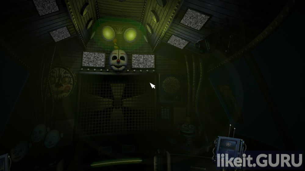 Five Nights at Freddy's: Sister Location game screen