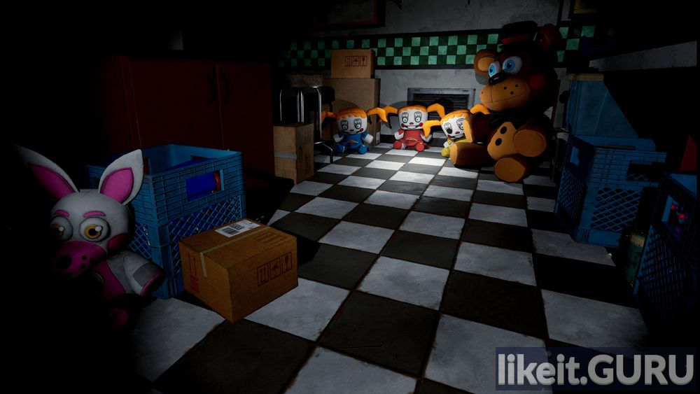 FIVE NIGHTS AT FREDDY S VR: HELP WANTED game screen