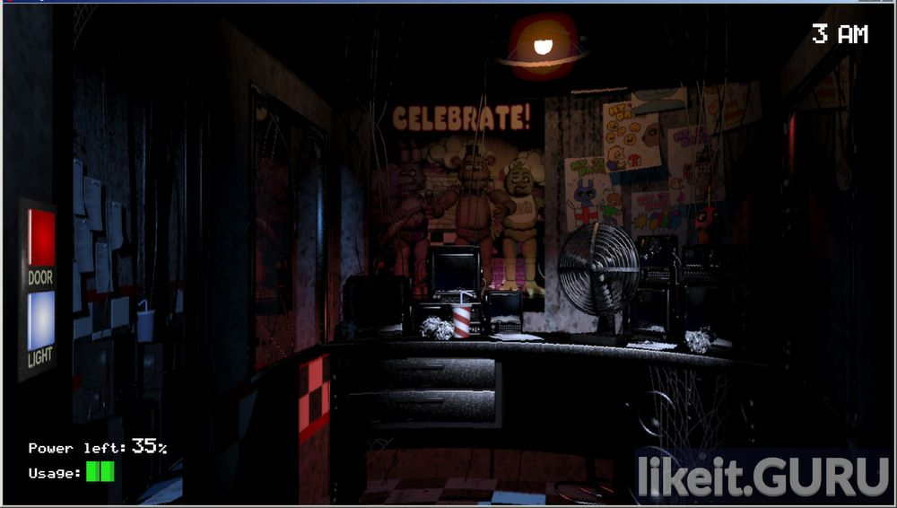 Five Nights at Freddy's game screen