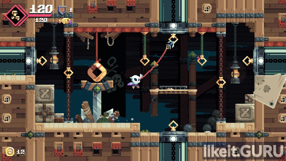 Flinthook game screen