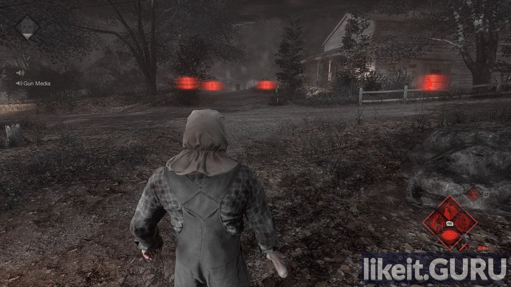 Friday the 13th: The Game game screen