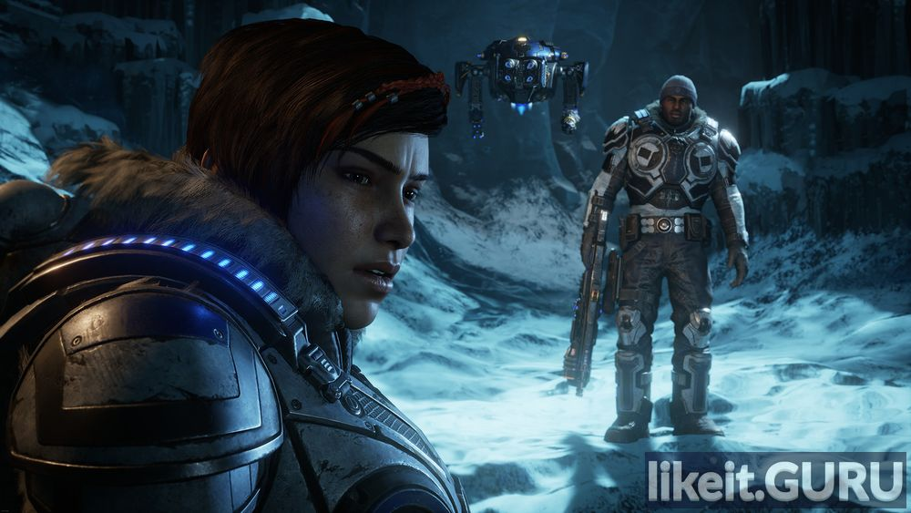 Gears 5 game screen