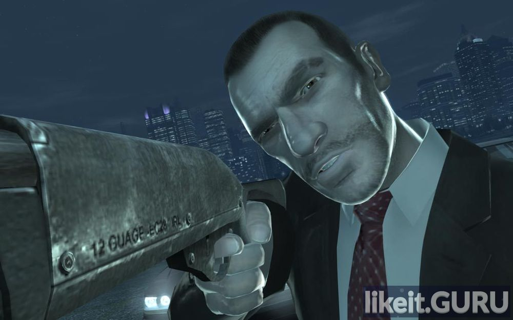 Grand Theft Auto IV game screen