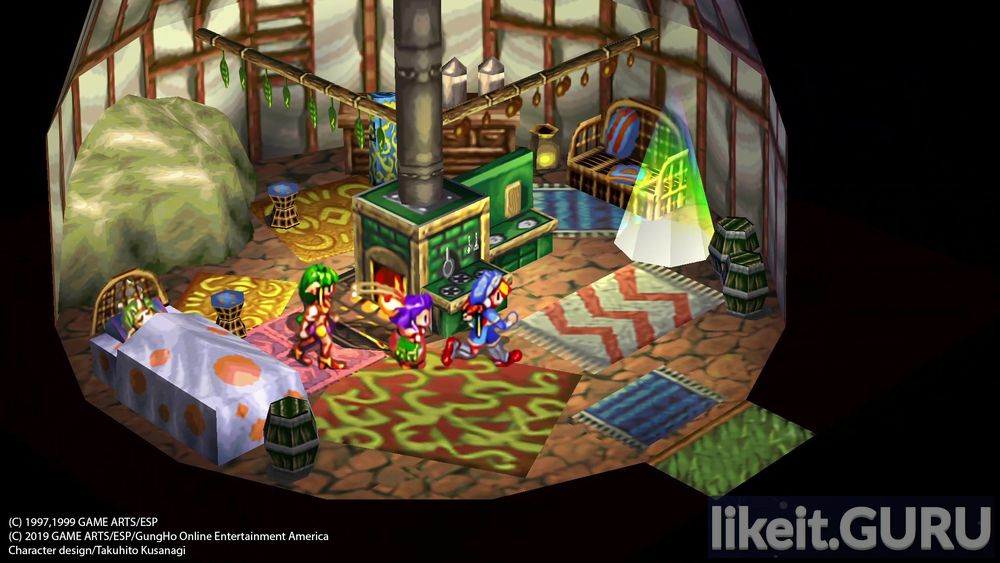 GRANDIA HD Remaster game screen