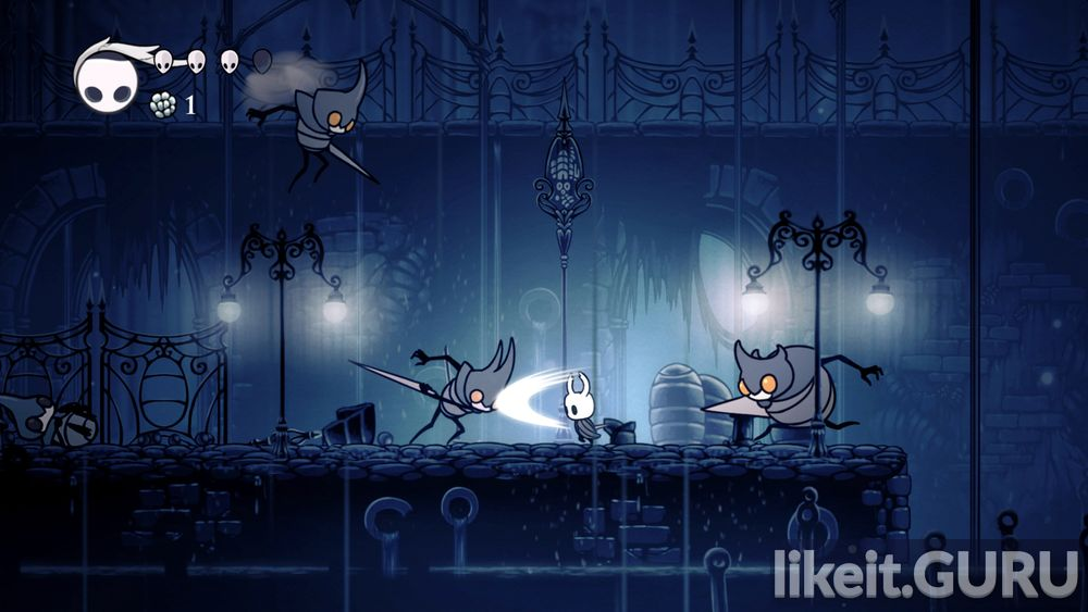 Hollow Knight game screen