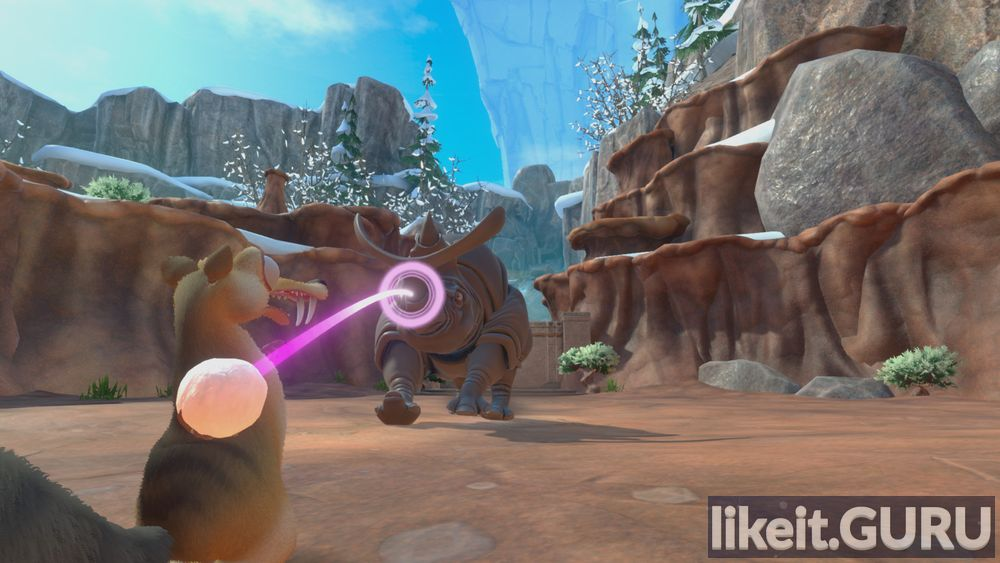 Ice Age Complete s Nutty Adventure game screen