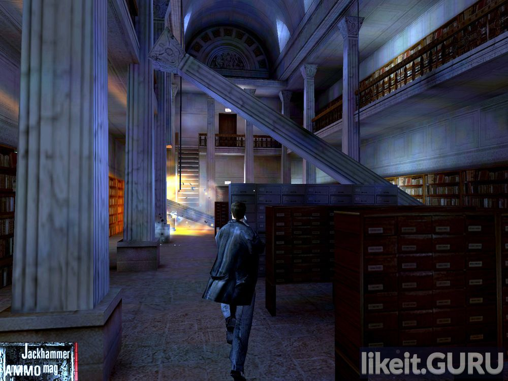 Max Payne game screen