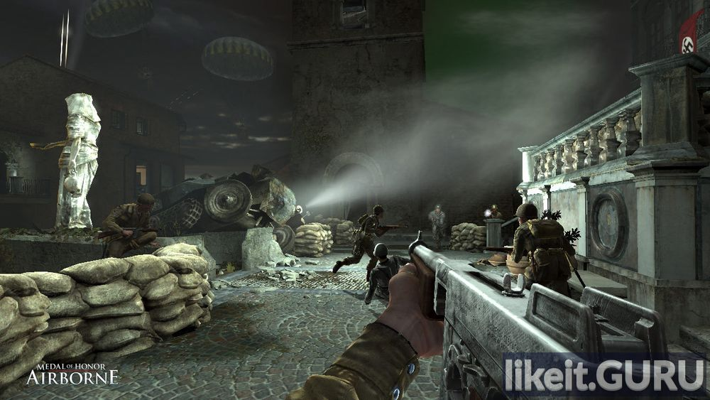 Medal of Honor: Airborne game screen