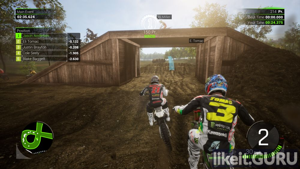 Monster Energy Supercross - The Official Videogame 2 game screen