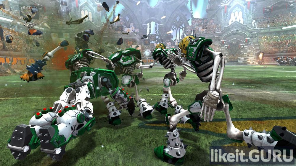 Mutant Football League game screen