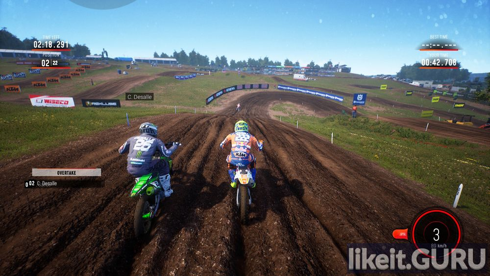 2019 MXGP - The Official Motocross Videogame game screen