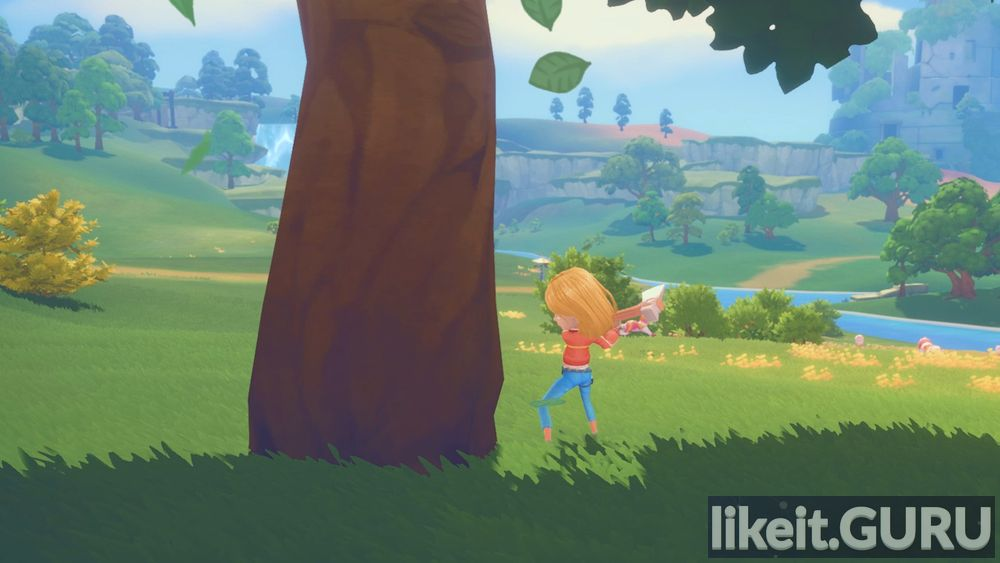 My Time At Portia game screen