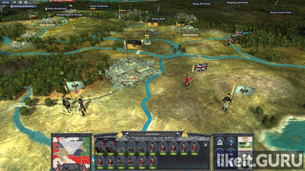 Napoleon: Total War game screen