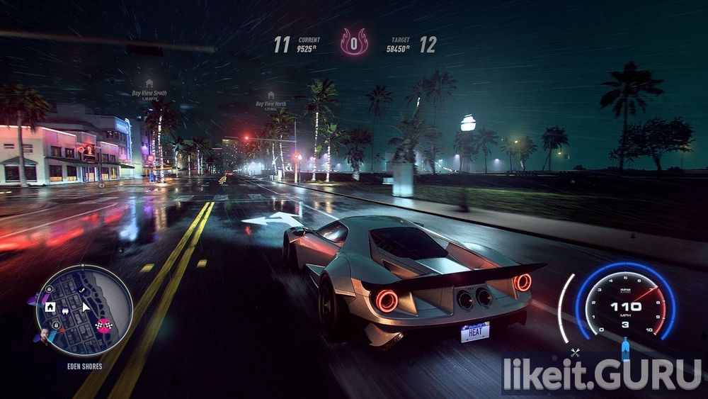 Need for Speed: Heat game screen