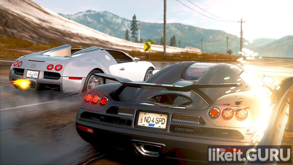 Need for Speed: Hot Pursuit game screen