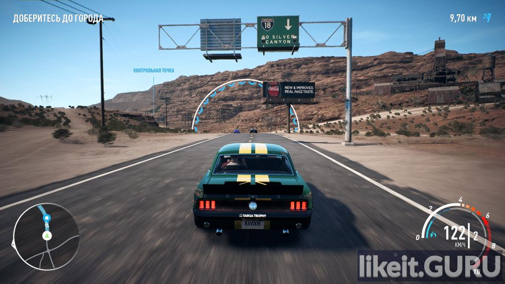 Need for Speed: Payback game screen
