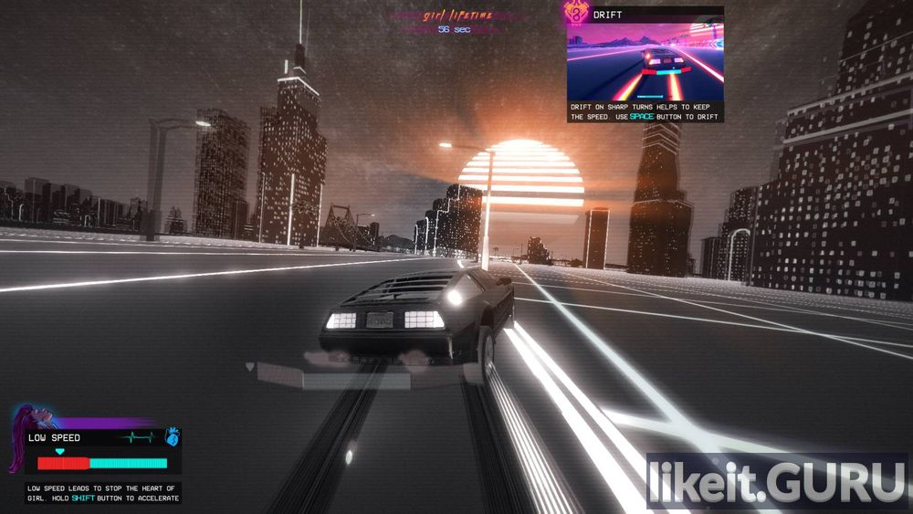 OutDrive game screen
