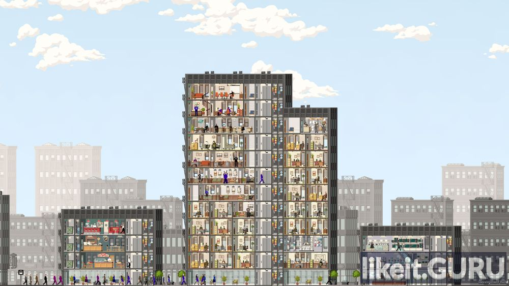 Project Highrise game screen