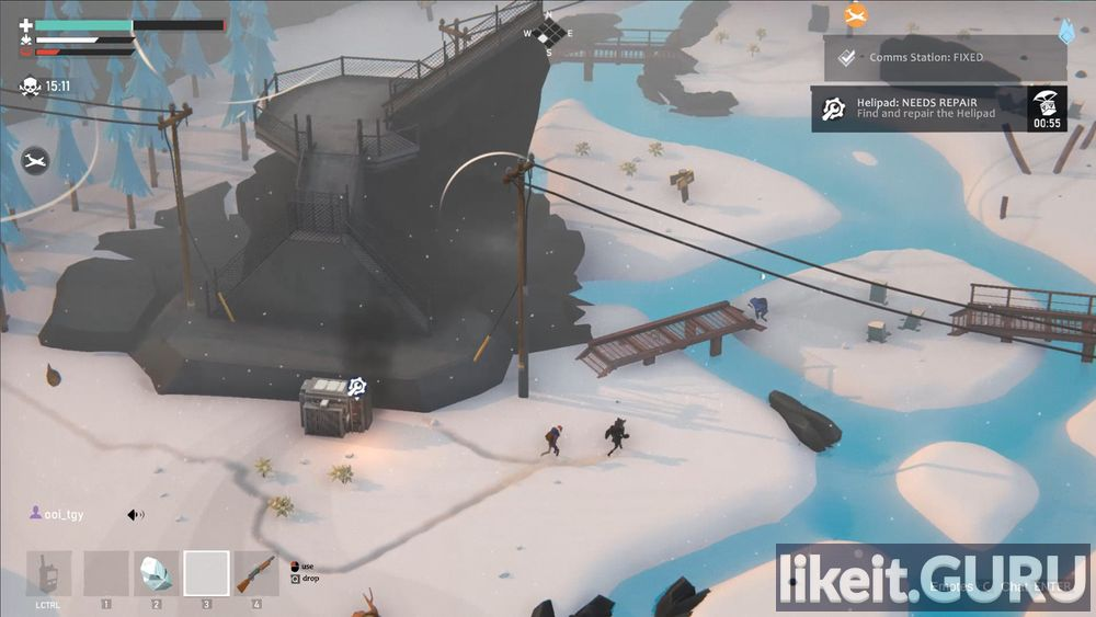 Project Winter game screen