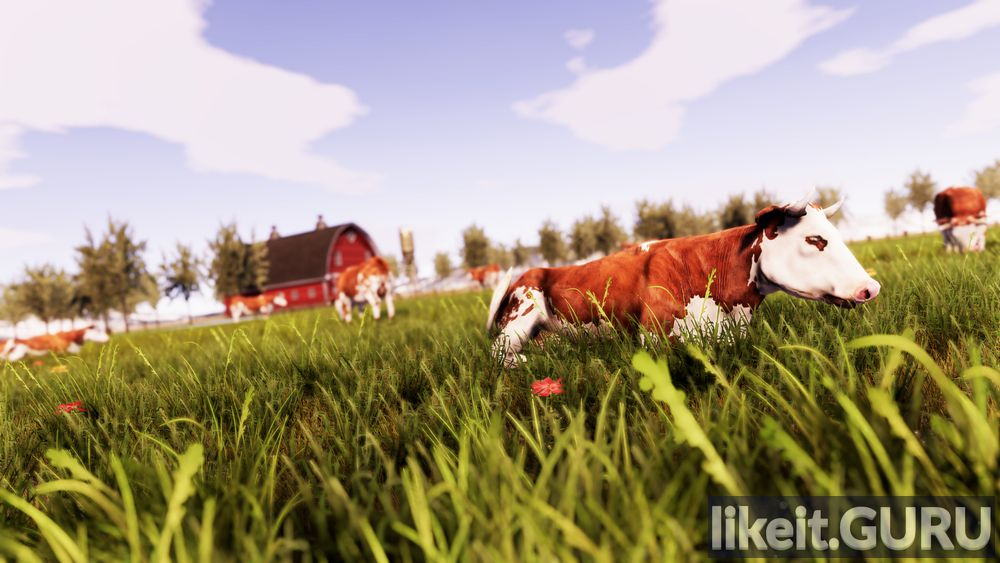 Real Farm game screen